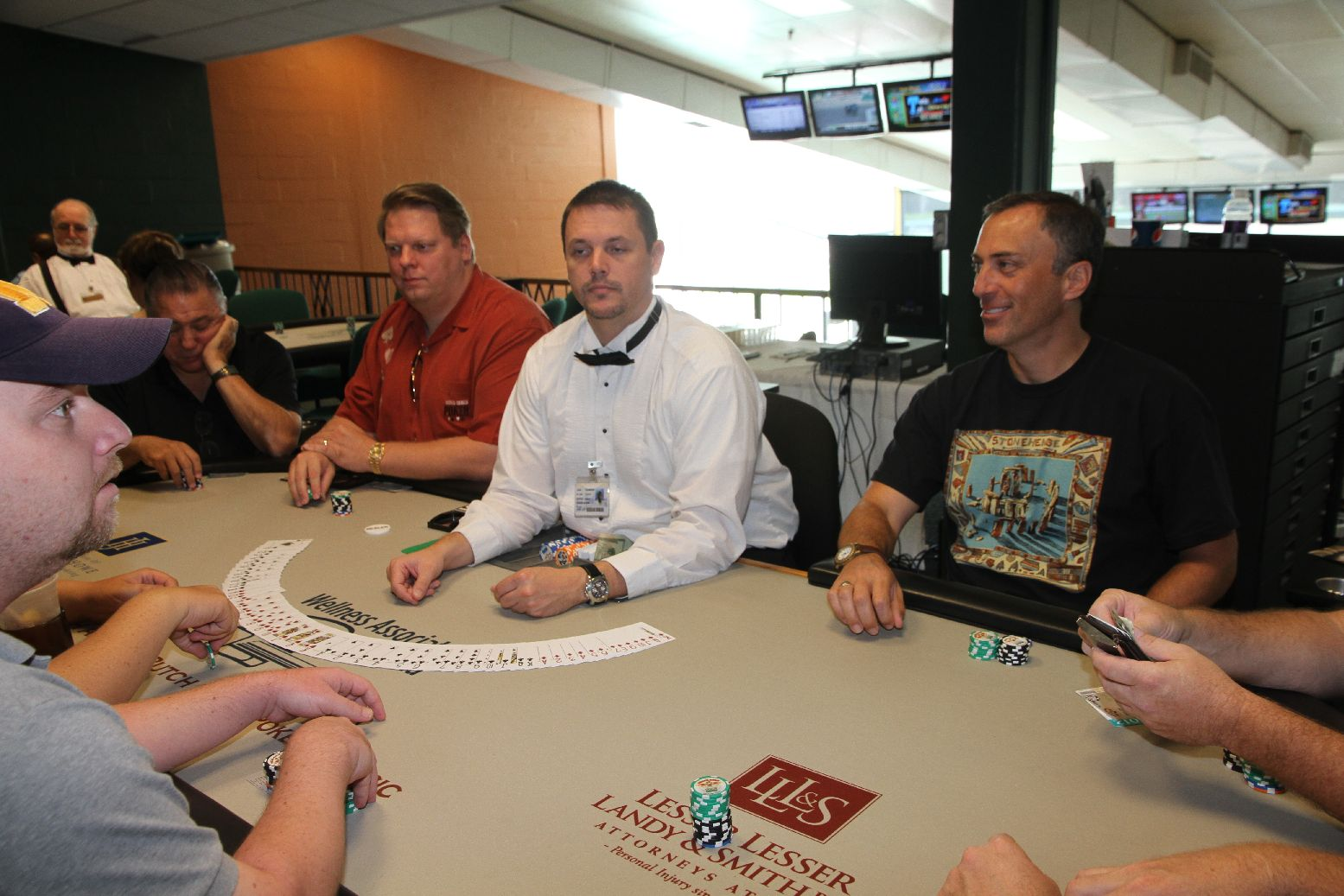 Montreal poker tournament august 2012