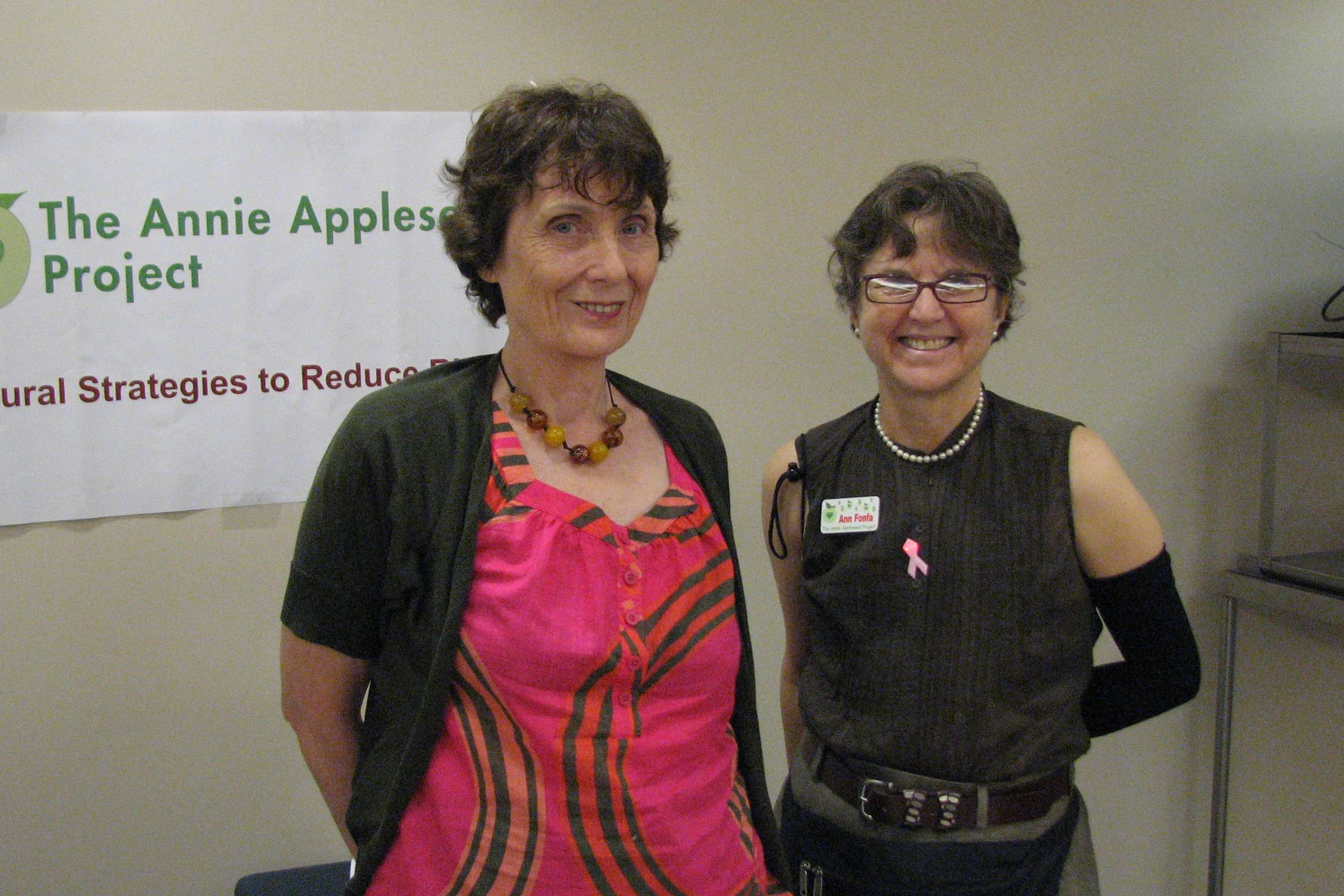 annie appleseed project I couldn't have asked for more from the 10th annual evidence-based complementary & alternative cancer therapies conference put on by the annie appleseed project.