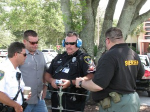 Jupiter Police Department Training with the Sheriff for Project Lifesaver