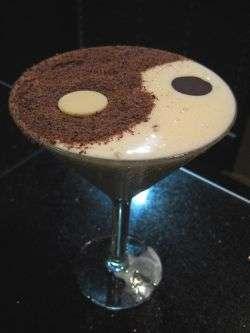 The Yin Yang Martini at The Melting Pot