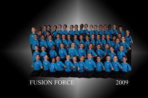 Fusion Force Dance Team, all students from That's Dancing!
