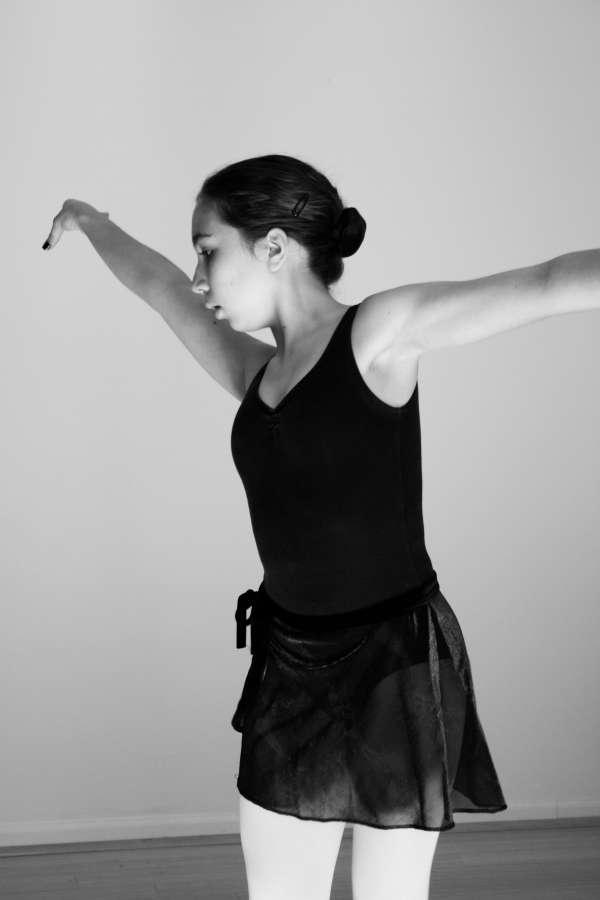 """""""Dancer."""" Photograph by Wellington photographer Allison Parssi."""