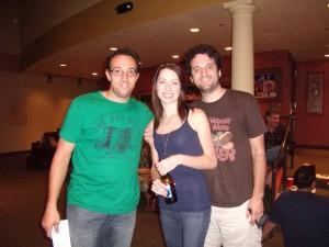 John Manzelli, Katie Amadeo and Antonio Amadeo