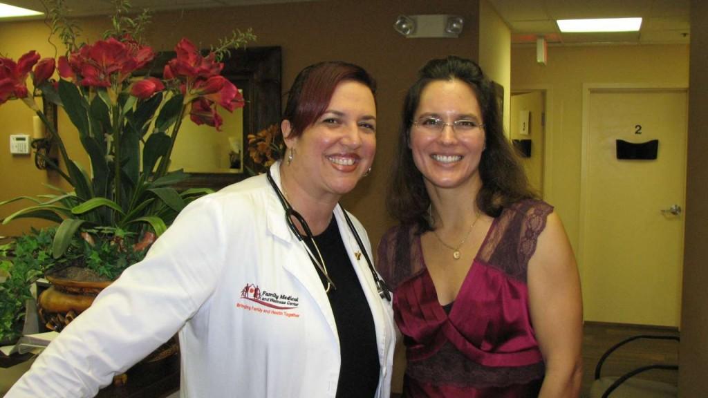 Dr. Vanessa Vizcaino and Heather Loguidice, ARNP