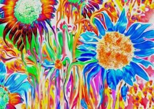 Melting Sunflowers