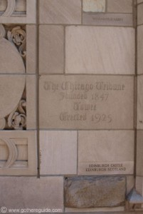 The Chicago Tribune Tower