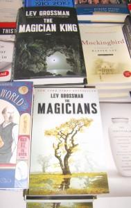 6lev-grossman-books-on-sale-at-mbfi-2011-image-by-marla-e-schwartz