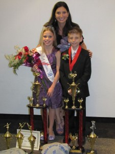 Petite Master and Petite Miss Dance of Florida Chapter 2 Nicholas LaMaina & Erica Borden, along with Andrea LaMaina of That's Dancing