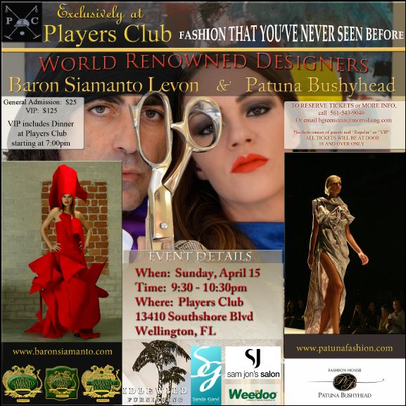 April 2012 Fashion Show At The Players Club
