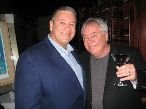 "Paul with Young Ron, ""Meatballs & Martinis 2011."" Photo: Stu Opperman, Impact Players."