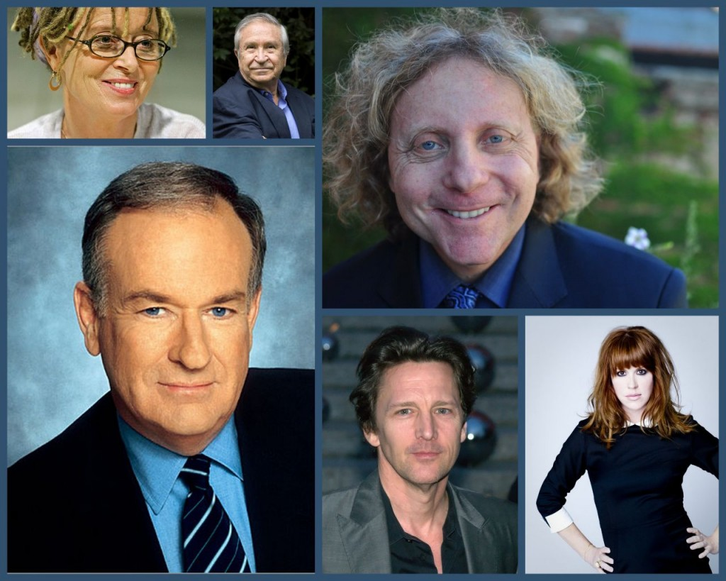 MBFI images - Ann Lamott; Homero Aridjis; Thane Rosenbaum; Bill O'Reilly; Andrew McCarthy; Molly Ringwald.