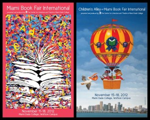 MBFI 2012 poster by Rosa Naday and Children's Alley poster by Daniel Kirk.