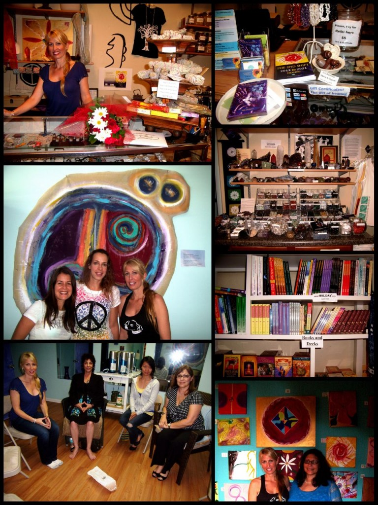 My Flora Aura in Boca Raton. Collage and images by Marla E. Schwartz.