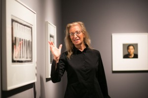 Annie Leibovitz at the Norton Museum. LILA PHOTO.