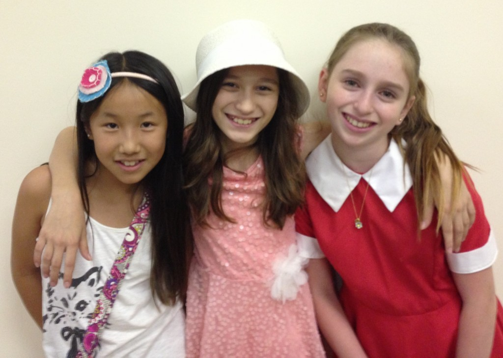 The three Annies