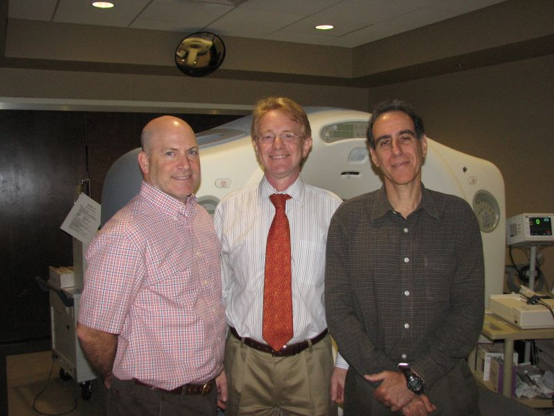 Dr. Thomas Kirchner, Dr. Eric Baumel and Dr. Jonathan Huber of Independent Imaging