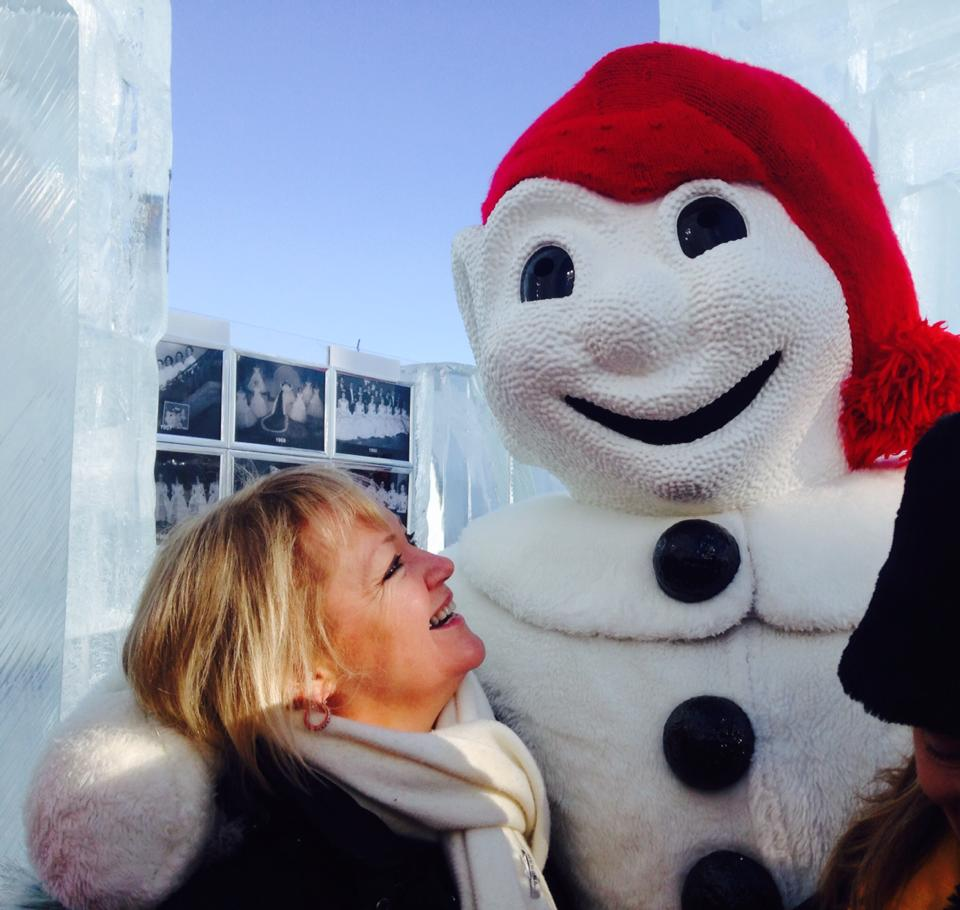 A Hug from Bonhomme