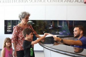 A for Science_Julia Bramham 5  Grandmother - Nancy March  Daniel Bramham 8_tn