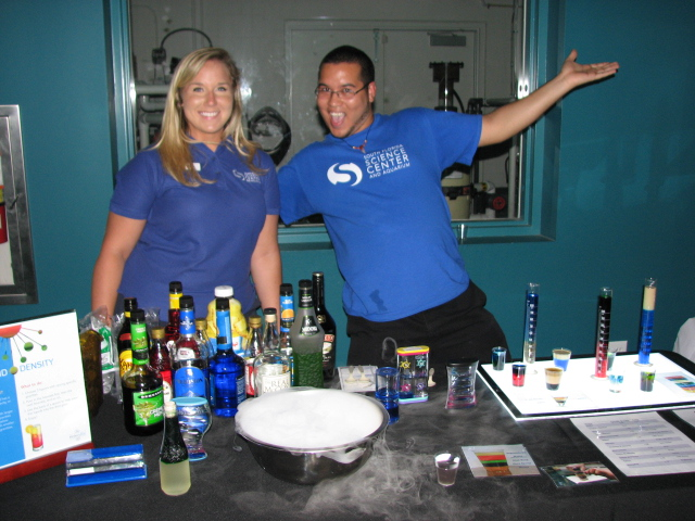 MolecuBar, a fun event at the South Florida Science Center and Aquarium last month. Photo by Krista Martinelli.