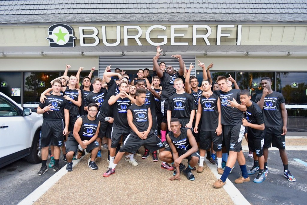 BurgerFi staff, Wellington, FL. Photo by Lois Spatz.