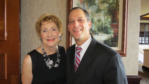Kathy Foster and Dr. Stuart Bagatell
