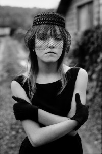 Tiny in her Halloween costume, Seattle, Washington 1983