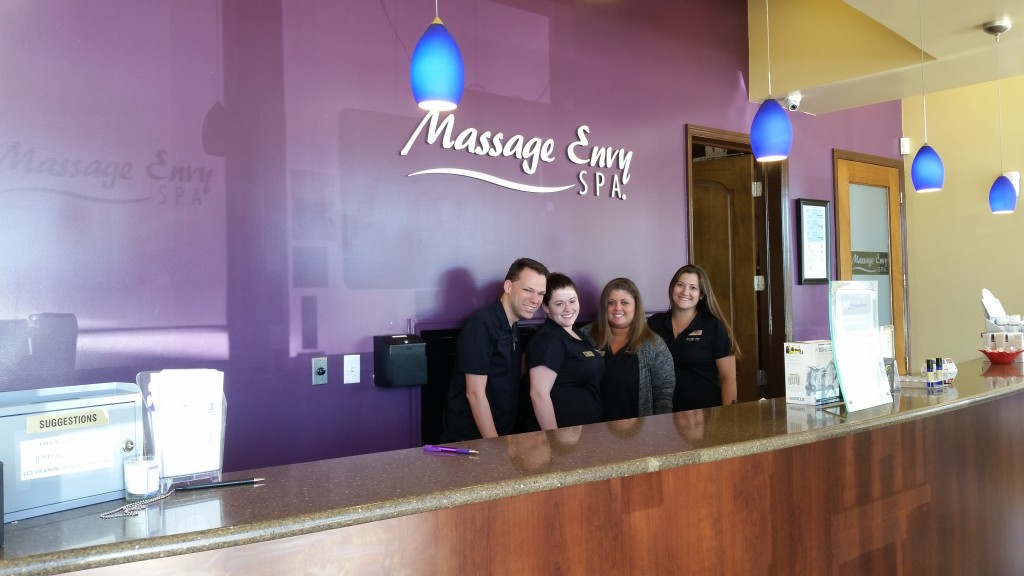 Part of the team at Massage Envy - RPB