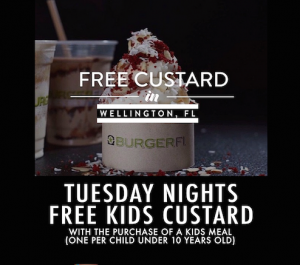 BurgerFi Kids Night