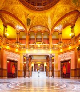 Flagler College lobby - St Augustine