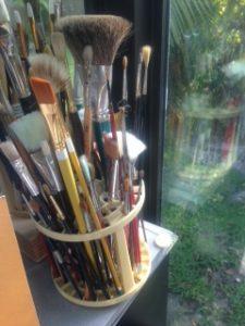 Corinne's brushes