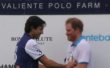 Nacho Figueras and Prince Harry. Photo by Alan Fabricant. AlFabPhoto.com