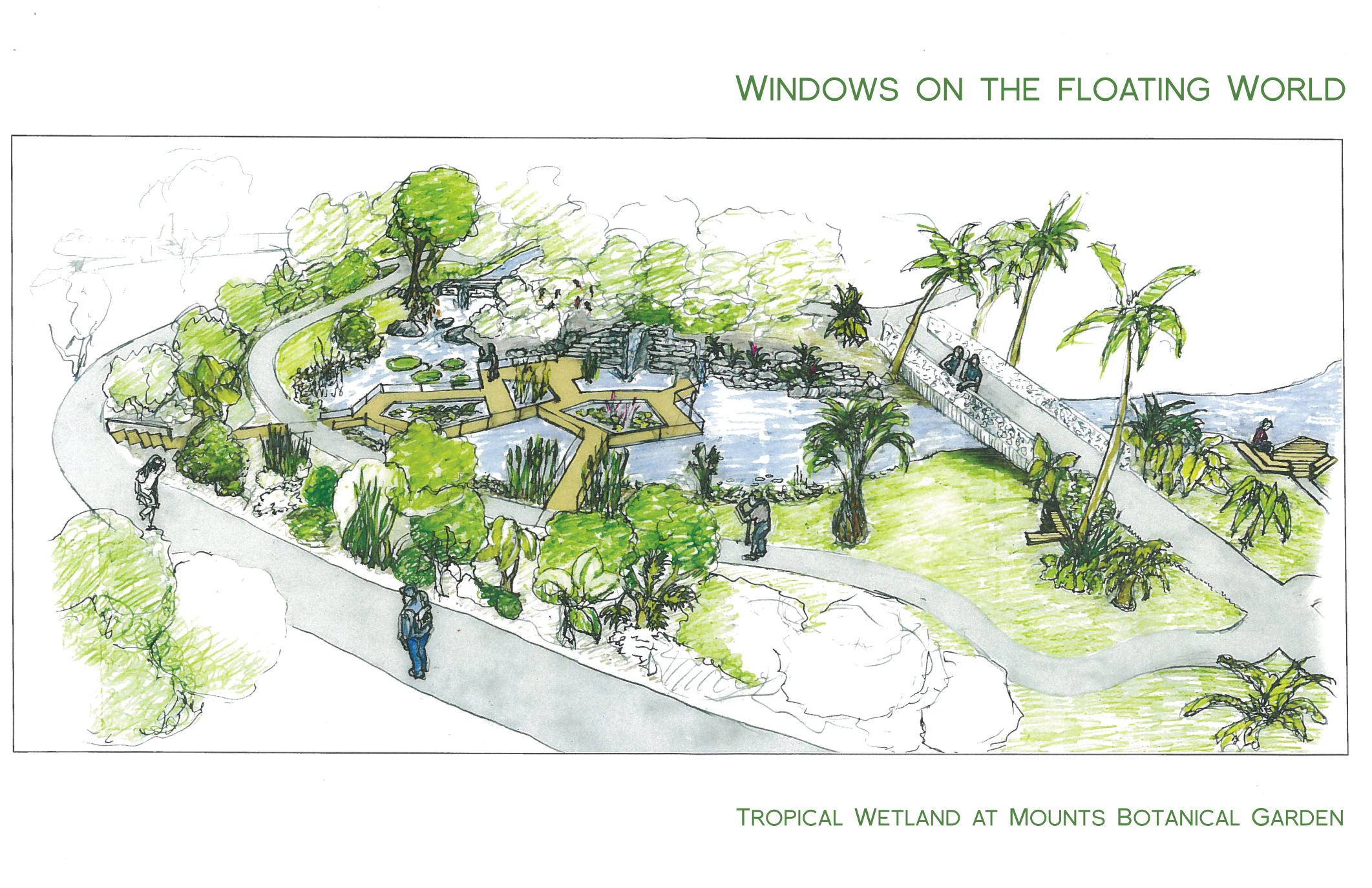 Rendering Of The Proposed Windows On The Floating World Exhibit At Mounts Botanical  Garden. (West Palm Beach ...
