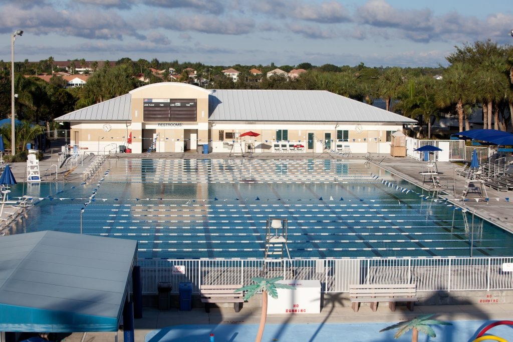 Jan. 16th, 2014 - Wellington, Florida: The Wellington Aquatic Center.