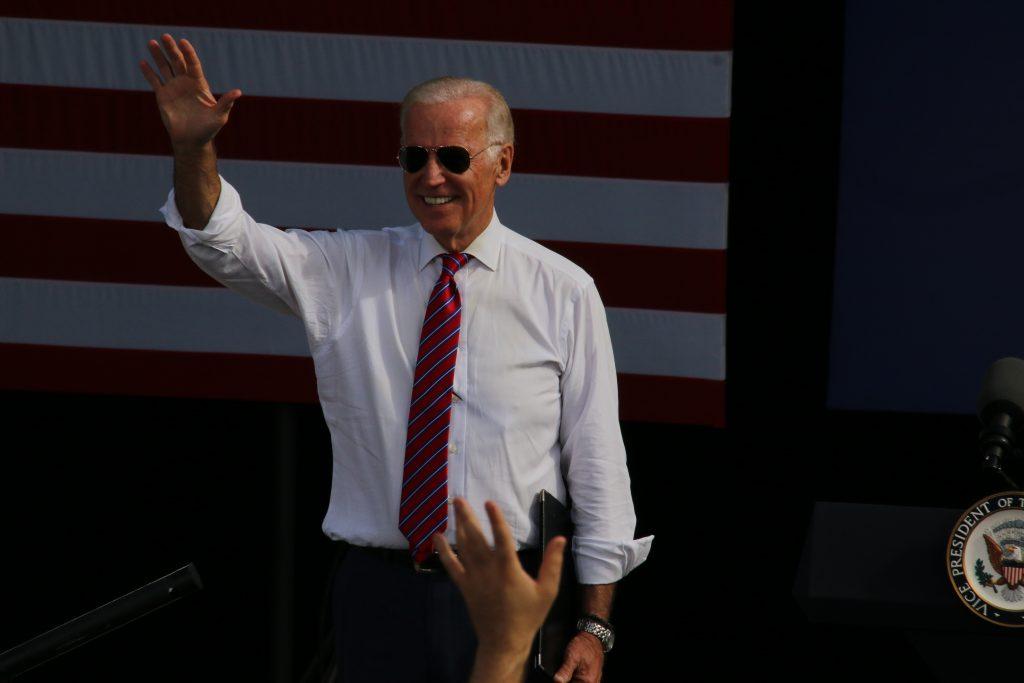 VP Joe Biden visits Palm Beache Gardens. Photo: Carol Porter.