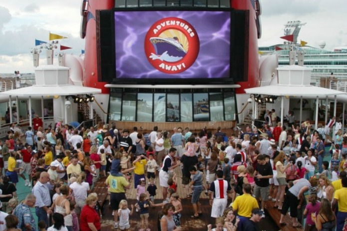 Sail Away Party on Disney Cruise
