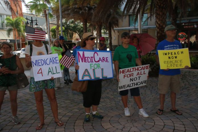 July 2017 Medicare For All Rally In Wpb