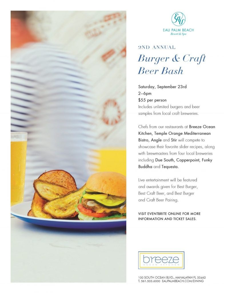 Burger craft beer bash online for Craft beer capital of the world