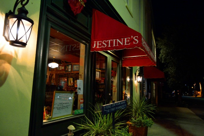Jestines Kitchen southern cuisine Travel with Terri