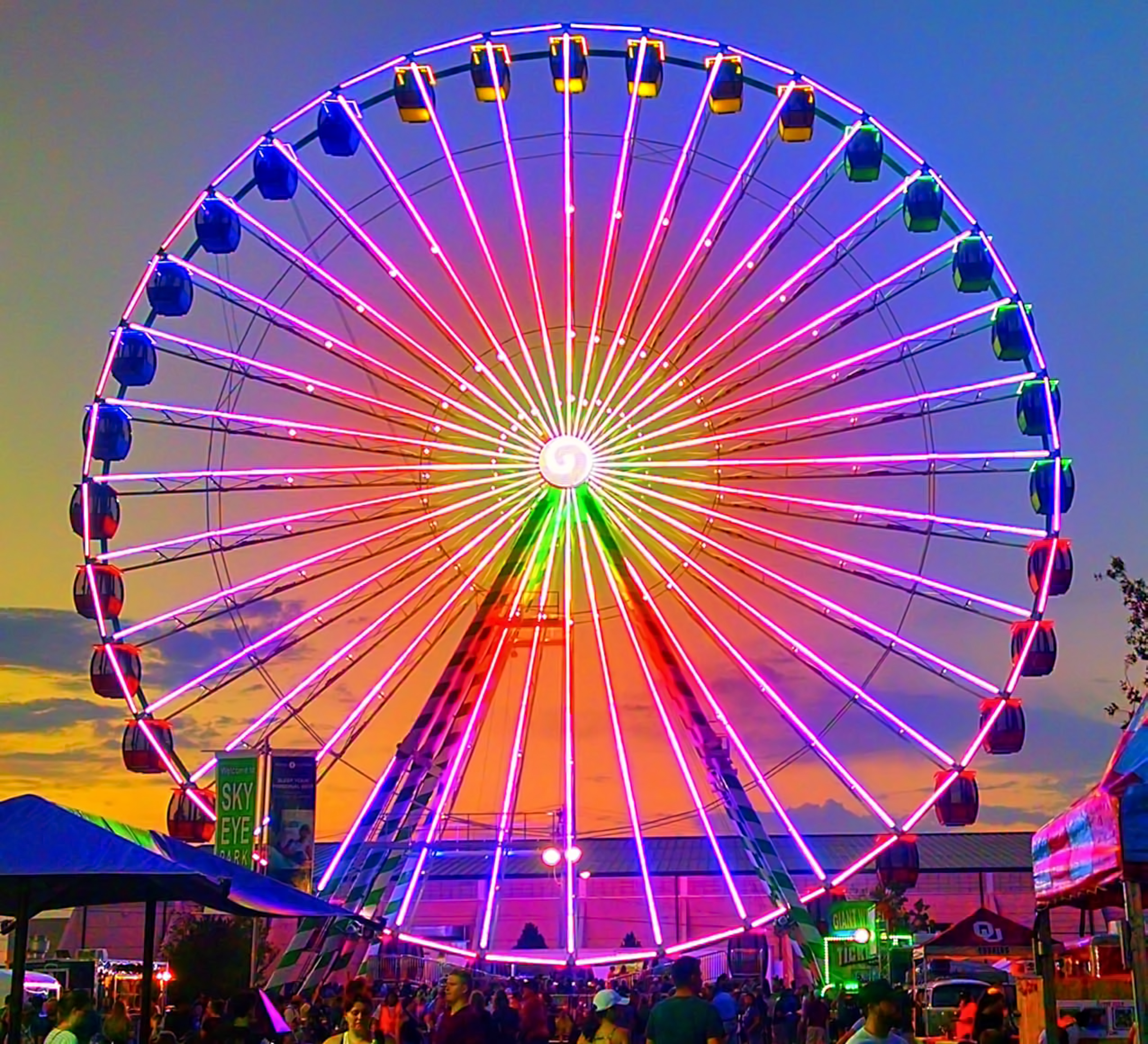North Americas Largest Traveling Ferris Wheel Coming To South