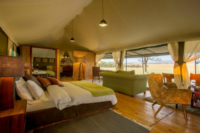Kaska Mara Camp accommodations for a Tanzania Safari Travel with Terri