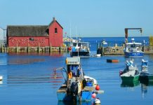 Escape to the seaside village of Rockport Massachusetts on Around Wellington