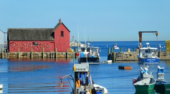 Escape to the seaside village of Rockport Massachusetts on Around Wellington