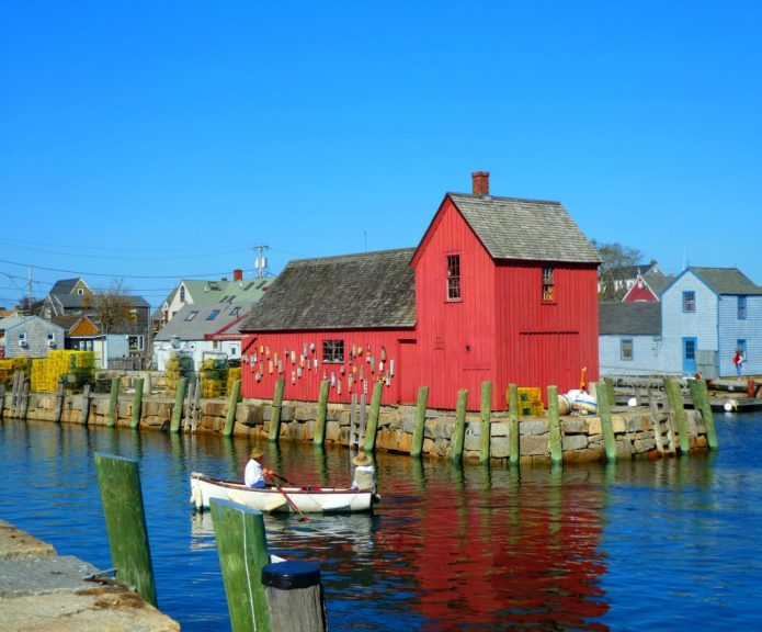 Travel with Terri to the seaside village of Rockport Massachusetts in Around Wellington