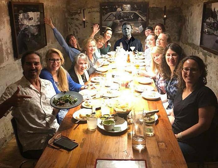 horror novie characters on Travel with Terri for AroundWellington.com