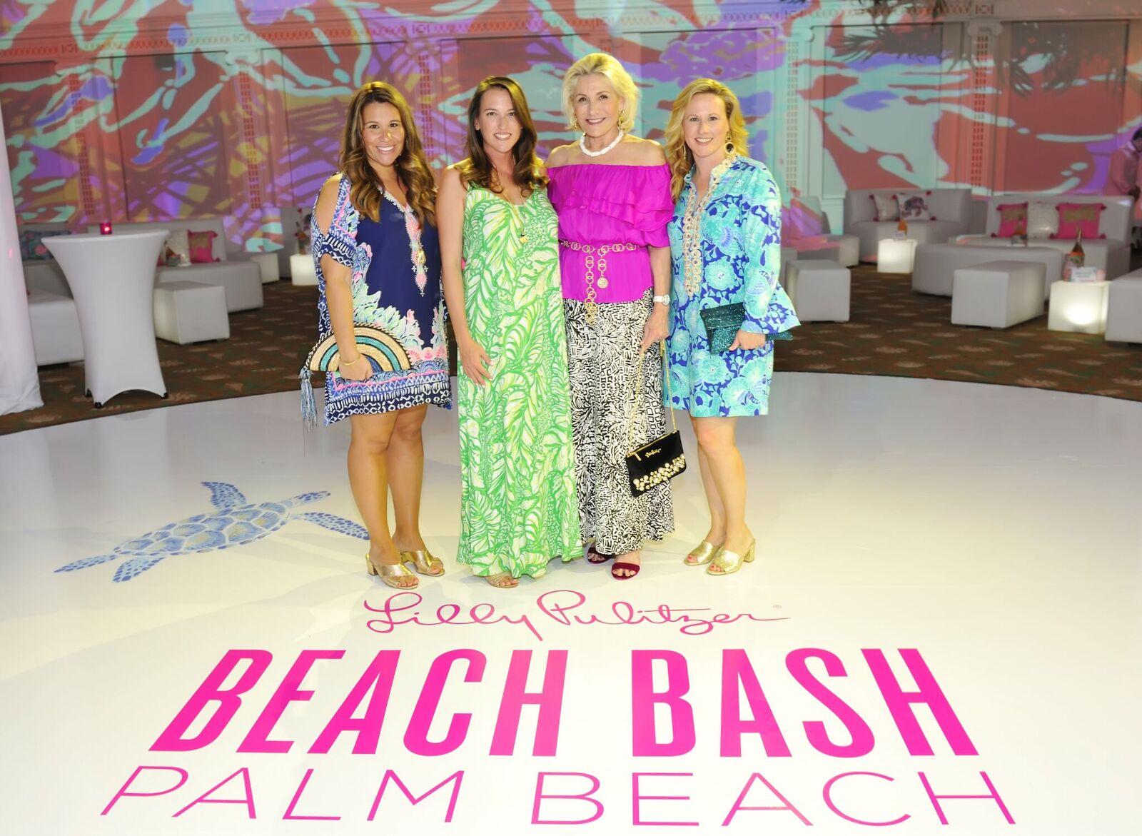 8bdffab53ac93b Lilly Pulitzer's Beach Bash Helps Save Turtles - AroundWellington ...