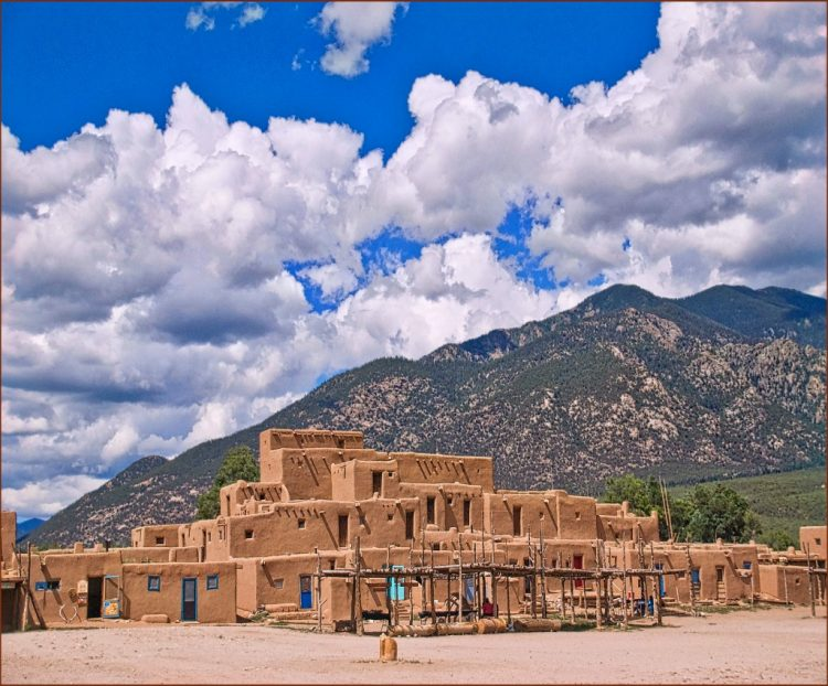 Taos Pueblo one of the cultural experiences for kids on Travel with Terri