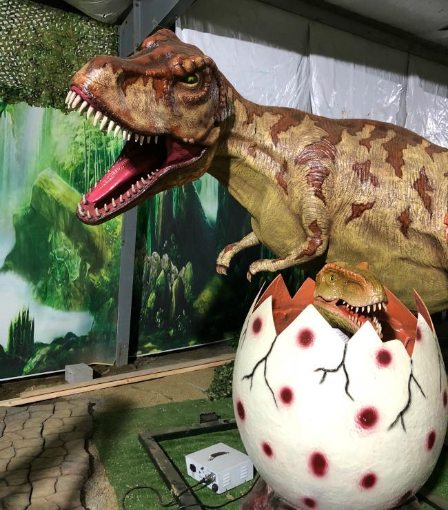 Dinossaur Park at Doolittle Station on AroundWellington.com