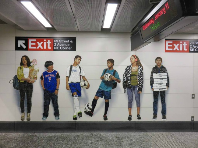 New York City Subway Art on Travel with Terri