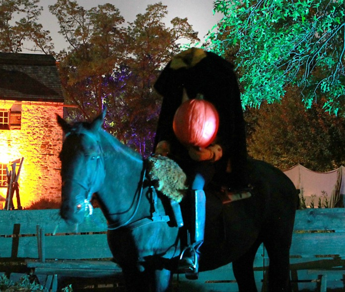 Sleepy Hollow's Headless Horseman on AroundWellington in Travel with Terri