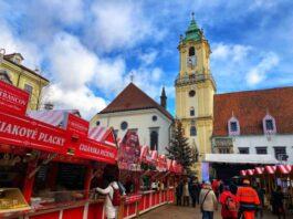 Bratislava Market on Around Wellington